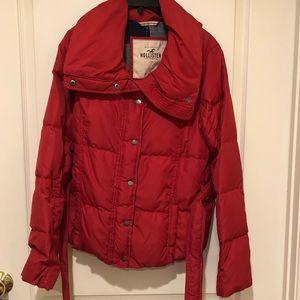 Hollister puffers jacket